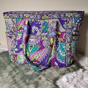 Vera Bradley large diaper bag